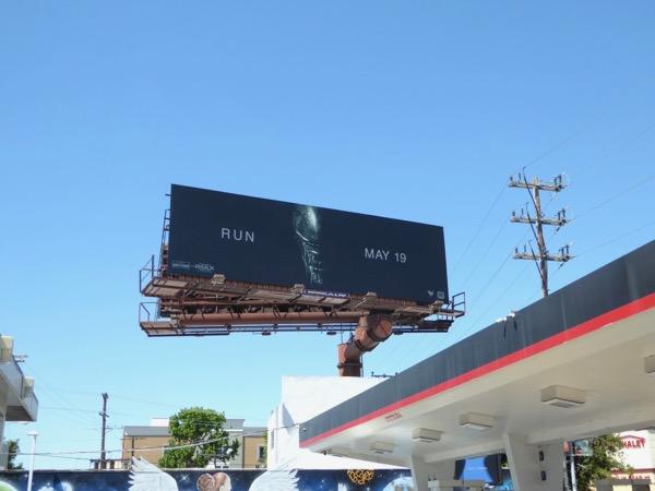 Alien Covenant Run billboard