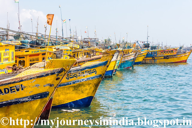 Fishing Harbor Vishakapatnam