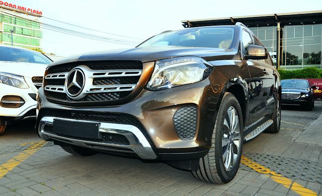 Kiểu dáng Mercedes GLS 400 4MATIC thiết kế theo phong cách thể thao rất ấn tượng
