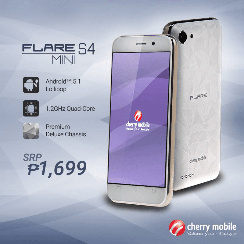 Cherry Mobile Flare S4 Mini now available