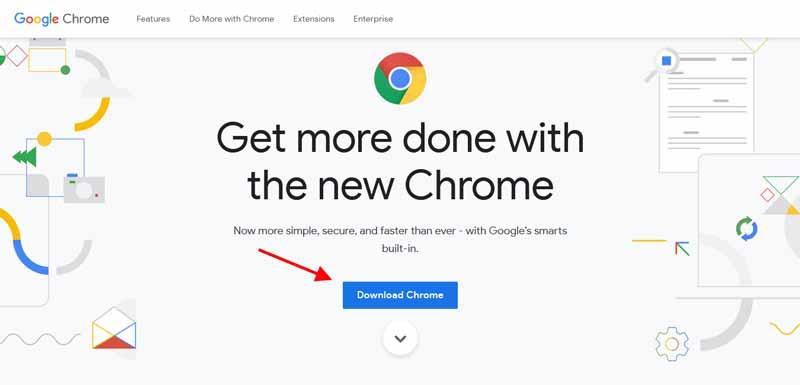 cara instal google chrome di laptop