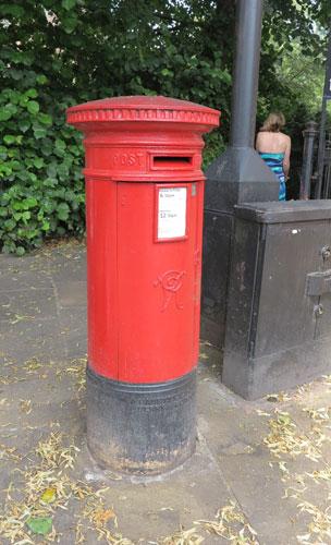 British Pillar Box, Chester