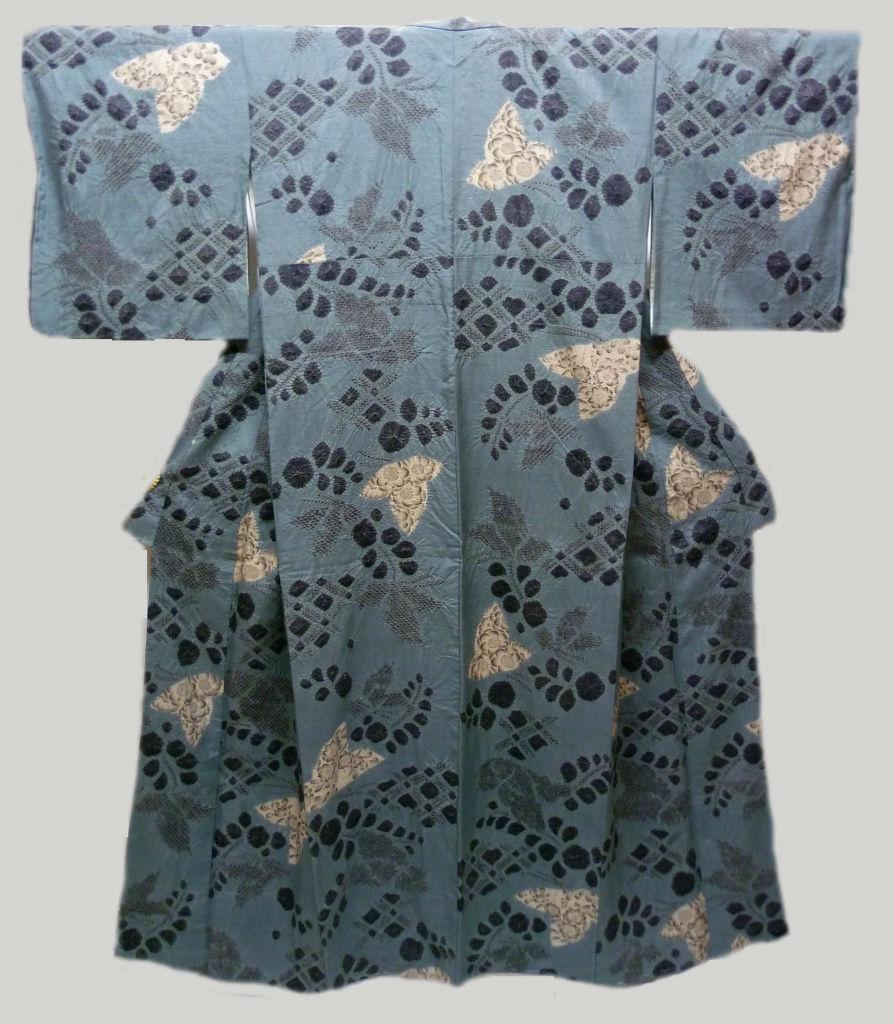 空いろ日和: 辻が花の着物と帯の組み合わせ