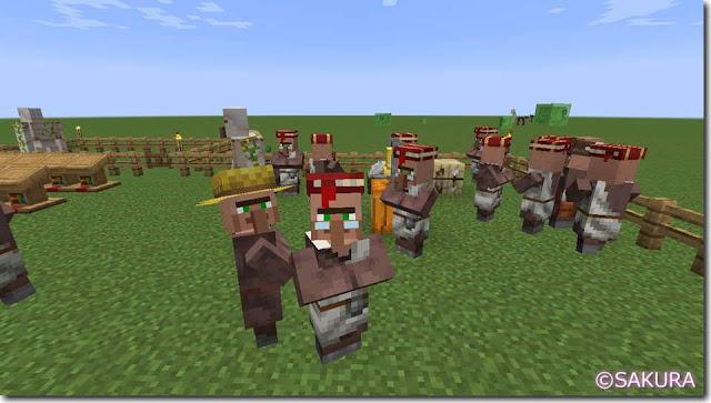 Minecraft 村人