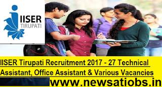 IISER-Tirupati-Technical-Assistant-Office-Assistant-Various-Vacancies