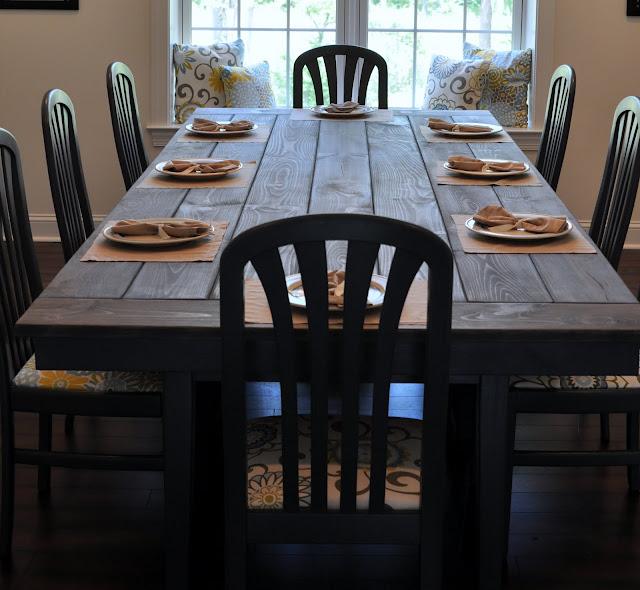 Farmhouse Table Remix {How To Build A Farmhouse Table}