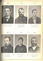 Mug shot of Charles 'Doc' Smyth and other criminals