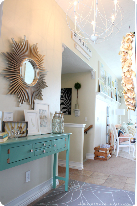 Entrance Decor Entry Foyer And Foyers: Entryway Table Decor