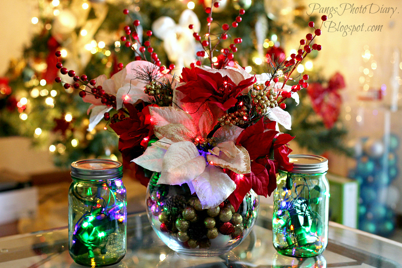 christmas center table decorations home design