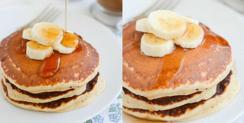 Pancake Day Healthy Recipe Protein Post Workout Banana & Peanut Butter