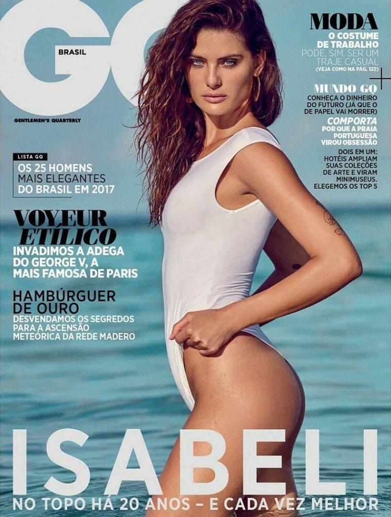 GQ Brasil November 2017 Isabeli Fontana by Eduardo Rezende