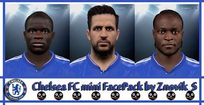 Chealse FC Mini FacePack- Release by Znovik_S