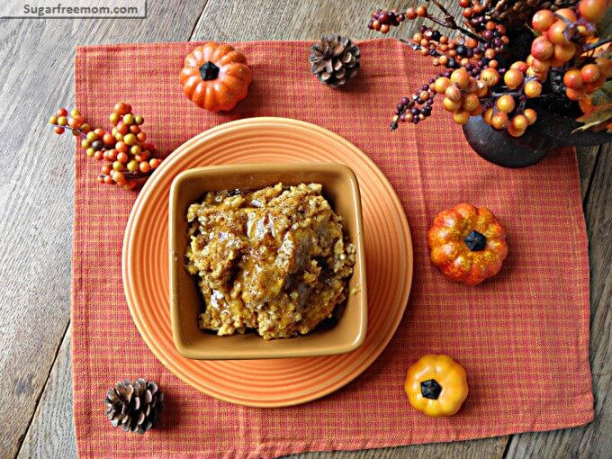Weight Watchers Crock Pot Pumpkin Pie Oatmeal