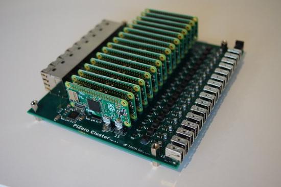 Placa de cluster consegue os 15 Raspberry Pi Zero's que faltavam