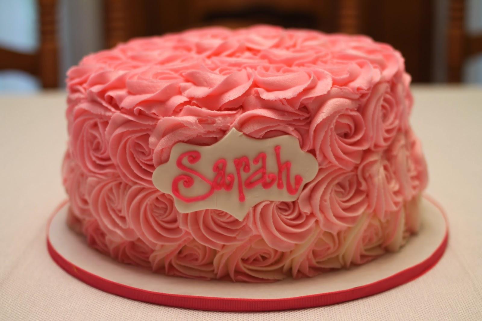 Birthday Cake Sarah Cake Recipe