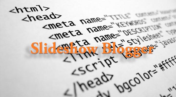 Como agregar a mi blog de Blogger un Slideshow automático