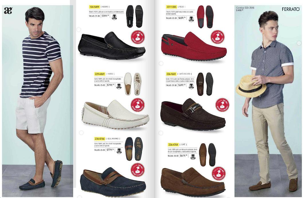 56d58b68 zapatos andrea para hombre
