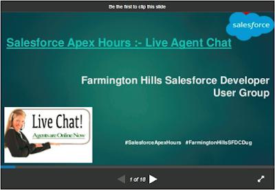 http://amitsalesforce.blogspot.com/2017/02/salesforce-apex-hours-live-agent.html