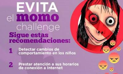 Alertan en Sonora por el #MomoChallenge