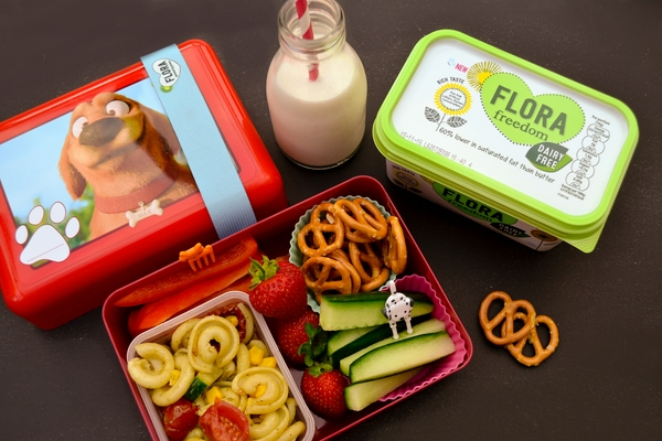 MONDAY - vegan kids lunch box