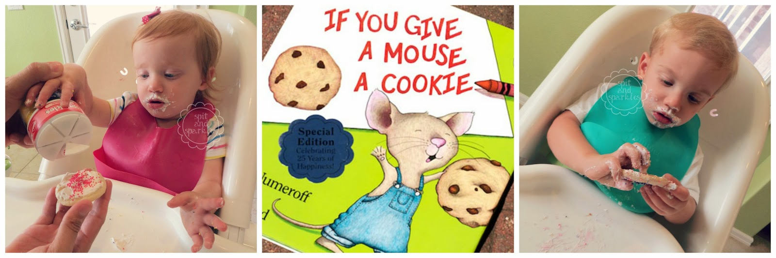 If You Give A Mouse A Cookie Tot School lesson. #cookies #totschool #earlylearning