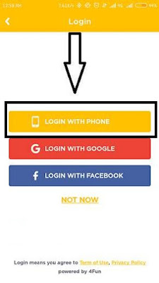 4fun app sign up - techpaisaearn