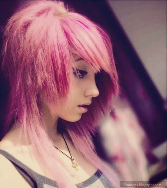 Girls With Pink Hair And Swag