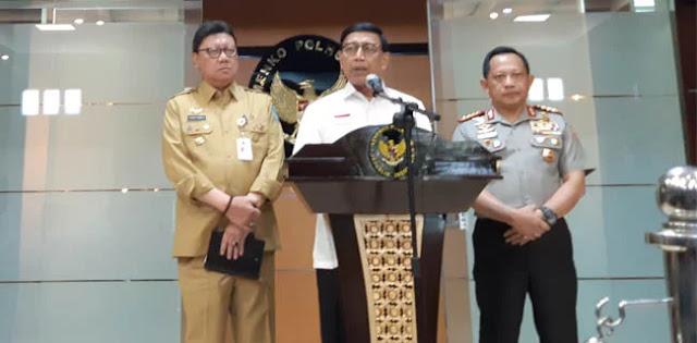 Baliho SBY Dirusak, Wiranto Ungkap Pelakunya Oknum PDIP dan Demokrat