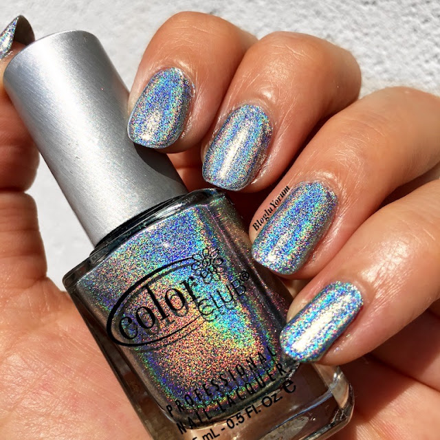 color club blue heaven holografik oje
