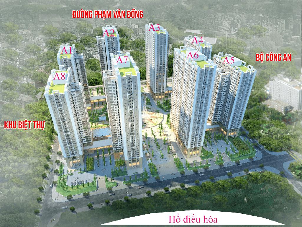 Quy mô tổng quan dự án An Bình City - Phạm Văn Đồng