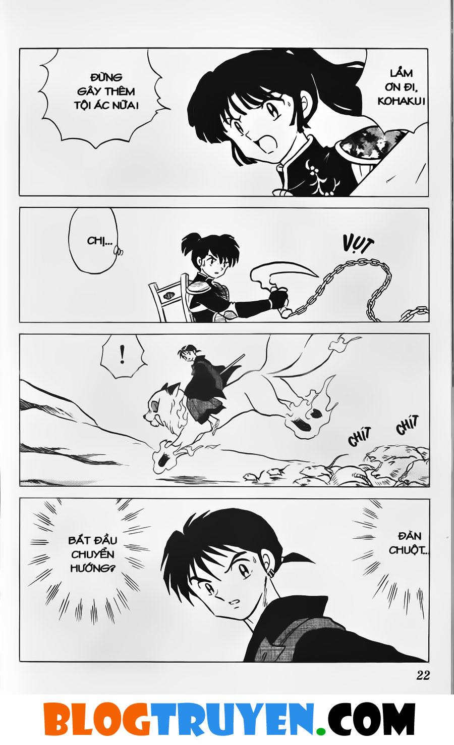 Inuyasha vol 34.1 trang 20