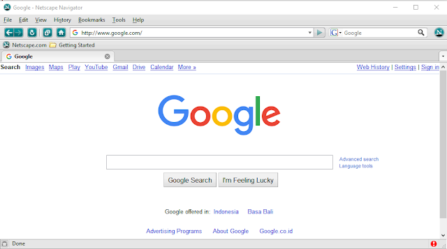 Download Browser Web Netscape Navigator