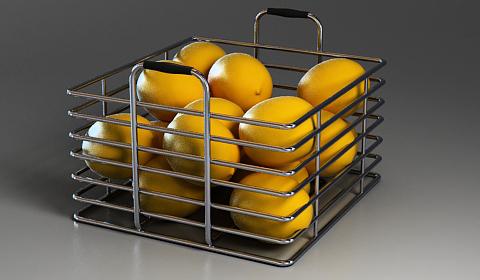 lemon 3d model free