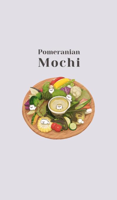 Pomeranian Mochi -salada-