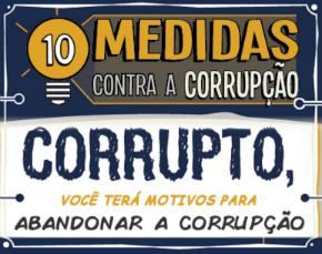Comissão especial discutirá as '10 medidas contra a corrupção'; saiba mais
