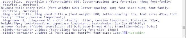 Dodajemy czcionki Google do kodu CSS bloga