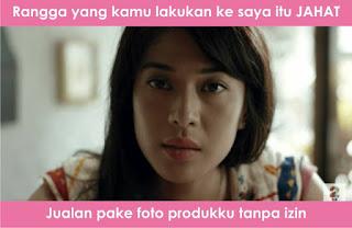 Meme Cinta AADC 2