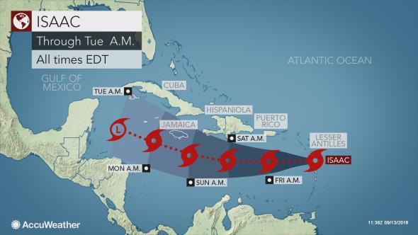 Tormenta Tropical ISAAC se acerca al Caribe | Rueda de Prensa en Republica Dominicana