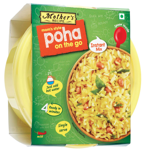Mother's Recipe packs a tasty punch of health in instant mix category with Poha, on the go!