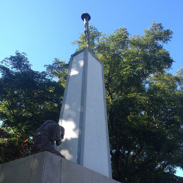 Monument to the Unnamed Soldier at the Bacolod City Plaza