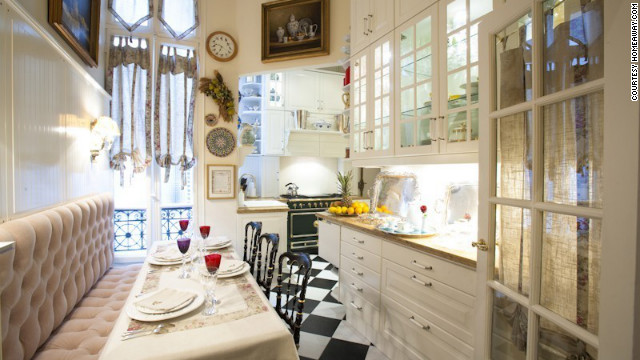 but authentic country french cooks prefer the accessibility that comes with open shelving they prefer things in full view and within arms reach - Kitchen In French
