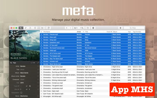 Meta Music Tag Editor, Audio Metadata v1 6 2 Full For Mac