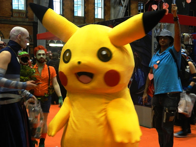 Manchester Comic Con Cosplay, Pokemon Cosplay, Pikachu Cosplay,