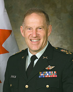 General Walter John Natynczyk, CMM, MSC, CD,