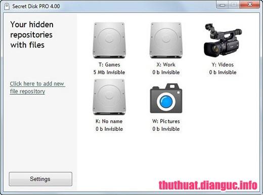 Download Secret Disk Pro 4.07 Full Cr@ck