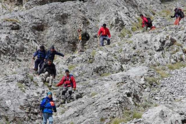 Εξόρμηση του Συλλόγου Αρκάδων Ορειβατών Οικολόγων στο φαράγγι του Ινάχου