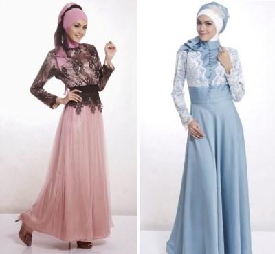 model baju muslim kebaya potongan yang trendy dan syar'i