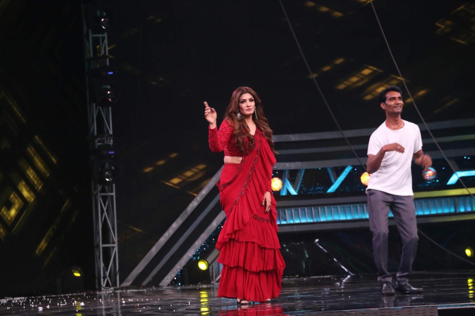 Ravishing Raveena Tandon On The Sets Of Super Dancer Chapter 3