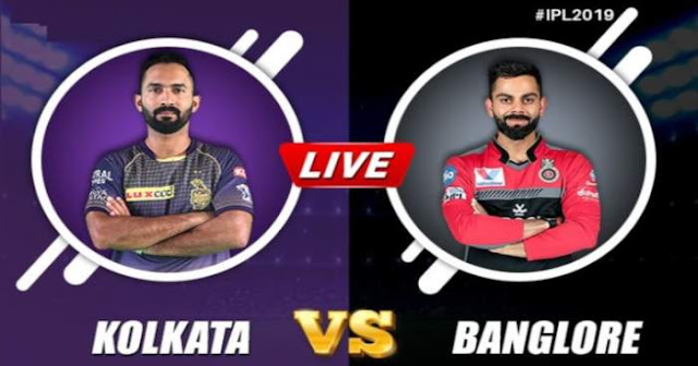 VIVO IPL 2019 Match 35 KKR vs RCB Live Score and Full Scorecard