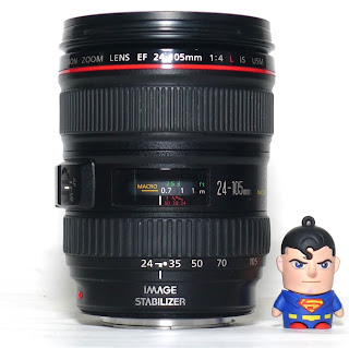 Lensa Canon 24-105mm f4L IS USM Bekas